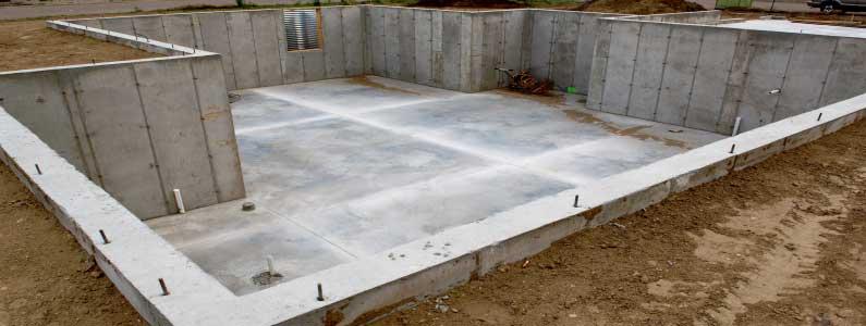 Grundwasser-Schutz durch weiße Wanne