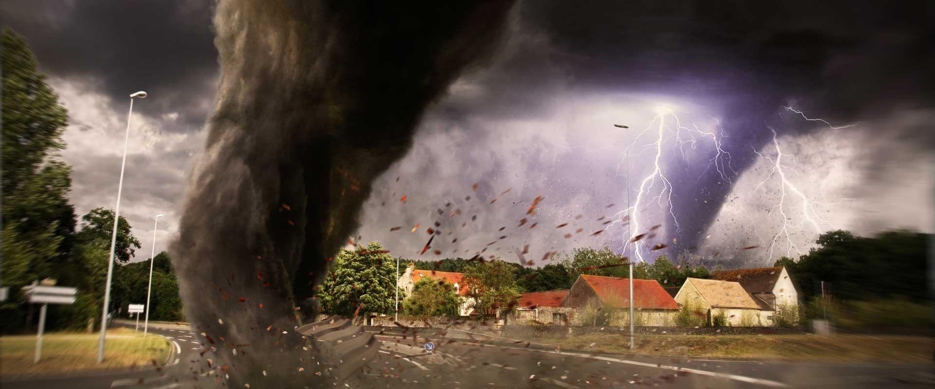 TORRO / FUJITA-Skala (Tornadostärken)