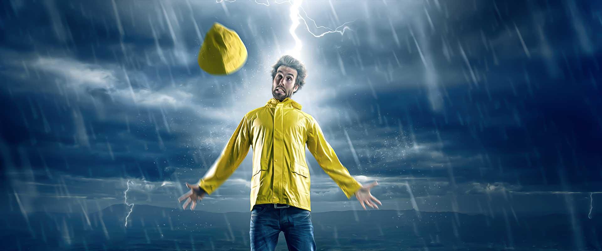 Keine Angst vor Gewitter: Blitzschnell Schutz finden
